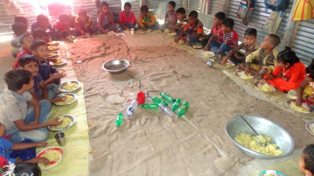 Mittagessen in der Schule